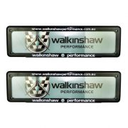 WALKINSHAW PERFORMANCE NUMBER PLATE COVER SLIMLINE