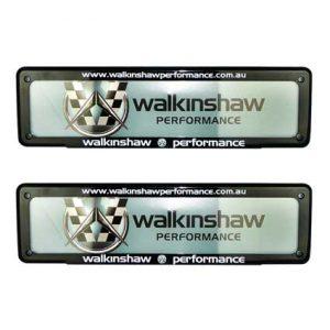 WALKINSHAW PERFORMANCE NUMBER PLATE COVER SLIMLINE