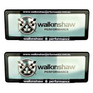 WALKINSHAW PERFORMANCE NUMBER PLATE COVER STANDARD